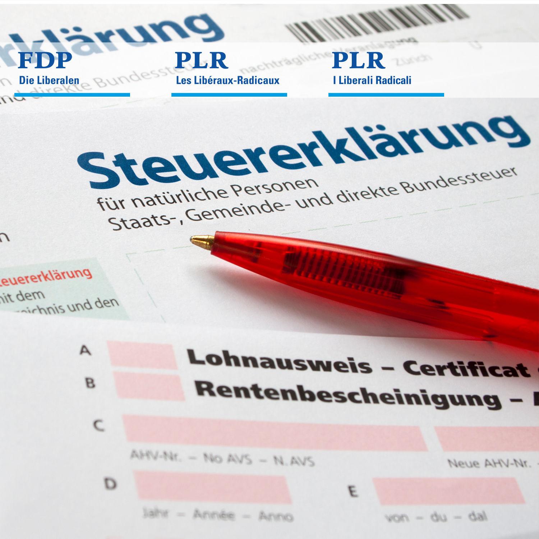 FDP.Die Liberalen - Verrechnungssteuer: Kleiner Fehler mit teuren ...