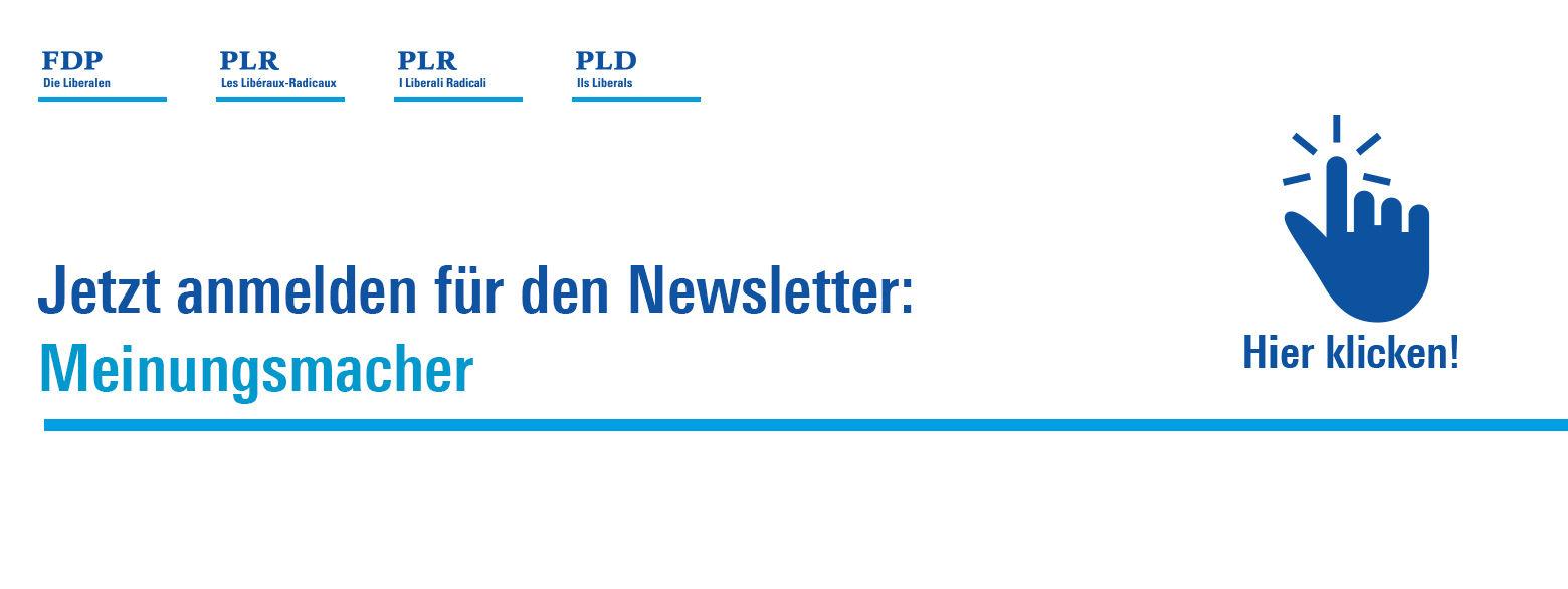 FDP.Die Liberalen - Willkommen - Politische Partei - Schweiz